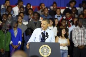 President Obama addresses P-TECH